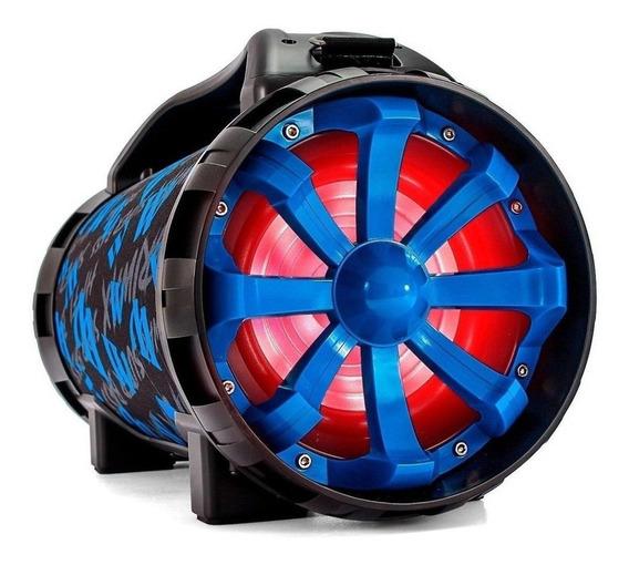 Caixa de som Briwax FBX-106 portátil sem fio Azul 110V/220V