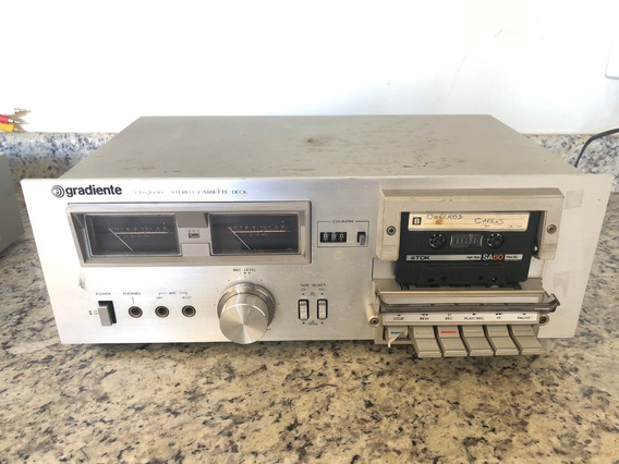 Tape Deck Gradiente Stereo Cassete Deck Cd-2600