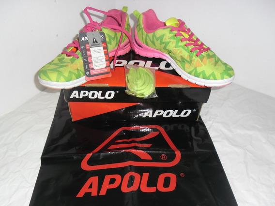 Zapatos Deportivos Apolo Para Damas Talla 37 Nuevas.