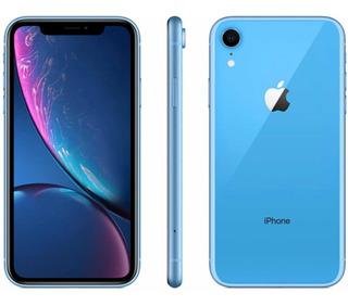iPhone Xr Azul 128gb, Dois Meses De Uso