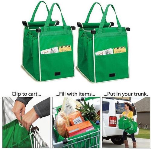 Bolsas Ecológicas Setx2 Reutilizables Para Mercado Grab Bag