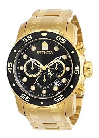 Relógio Invicta Pro Collection Modelo 0072 Ouro 18 Quilates