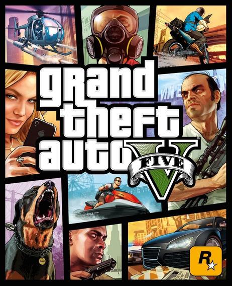 Gta 5 Grand Theft Auto V Psn Ps3 Envio Agora