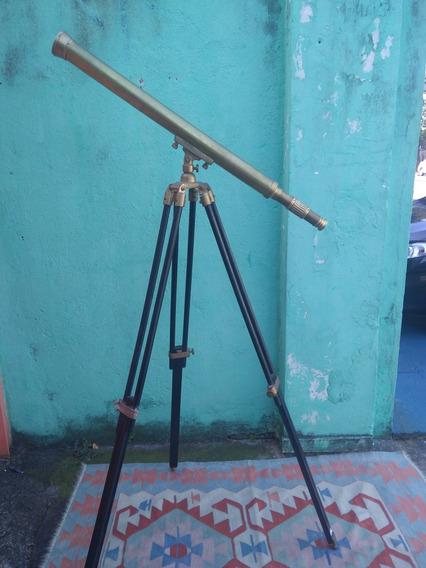 Luneta/telescópio Retrô De Metal ( Leia O Anúncio )