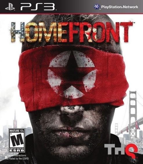 Homefront (mídia Física) - Ps3