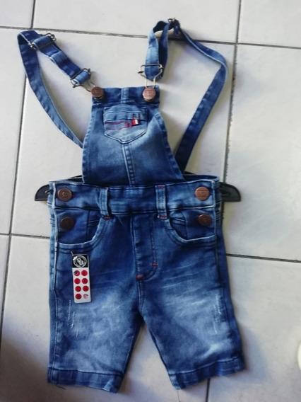 Overol Short Nuevo Niño