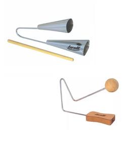 Kit Agogo Duplo Torelli To016 + Queixada Torelli Tp230