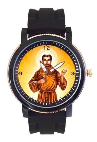 São Francisco De Assis Relógio Pulseira De Borracha 5036