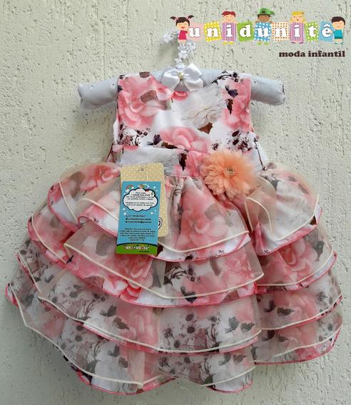Vestido Menina Festa Princesa Lindo