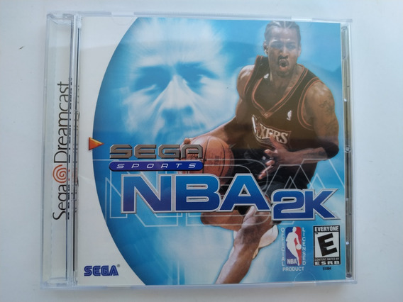 Nba 2k Sega Dreamcast Original Completo Cib C Manual