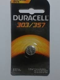Bateria Energizer / Duracell 357/303