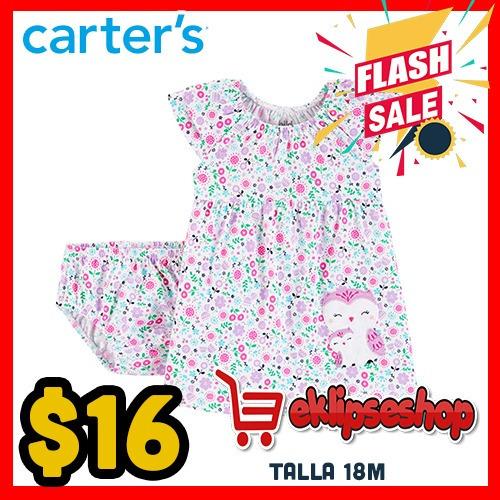 Ofertas Ropa Carters Oshkosh Gerber Bebé Vestidos Niñas