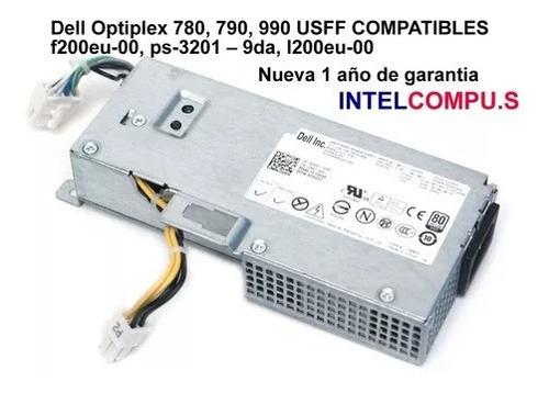 Fuente De Poder Dell Optiplex 780, 790, 990