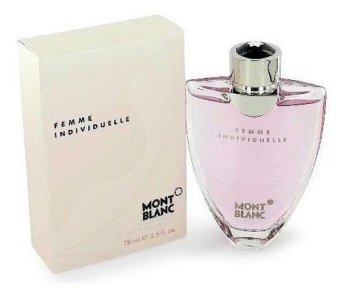 Perfume Mont Blanc  Individuelle Dama 75ml Saldo Original