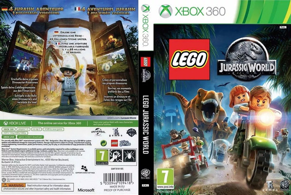 Lego Jurassic World (console Destravado Lt 3.0)