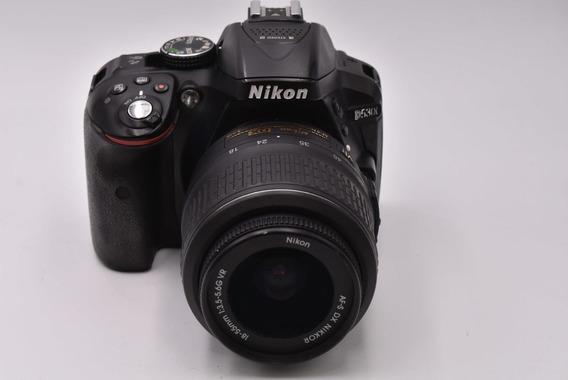 Nikon D5300 Semi Nova Lente 18 55 Na Caixa Com Brinde