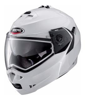 Casco Para Moto Abatible Caberg Smart Duke Ii Blanco