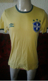 Camiseta Do Brasil Retro Umbro