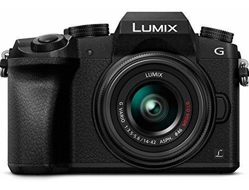 Panasonic Lumix G7 Black Cámara 4k Oled Wi-fi 16mp 14-42mm