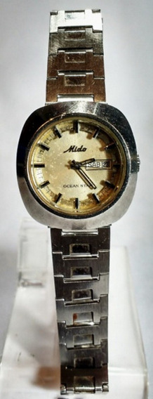 Antigo Relógio Pulso Mido Ocean Star Automático D. 3,5 Mm