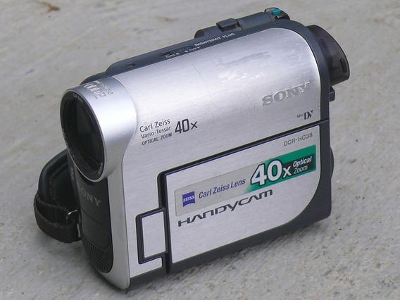 Filmadora Sony Dcr-hc38