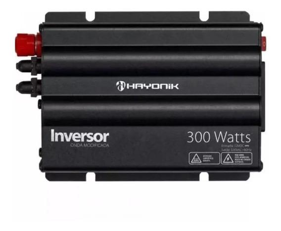 Inversor Hayonik 300w 12v/127v Pico 600w Onda Mod. Full