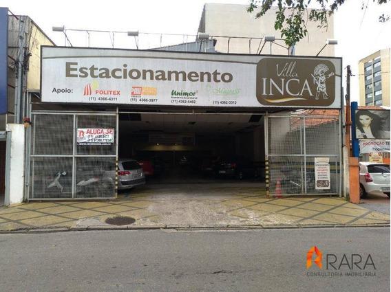 Salão De 480m² Para Estacionamento- Rudge Ramos - Sbc - Sl0006