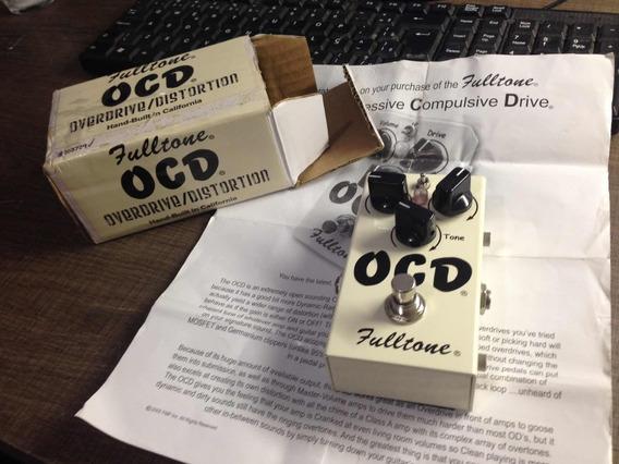 Pedal Ocd Overdrive E Distortion - Usa- V4