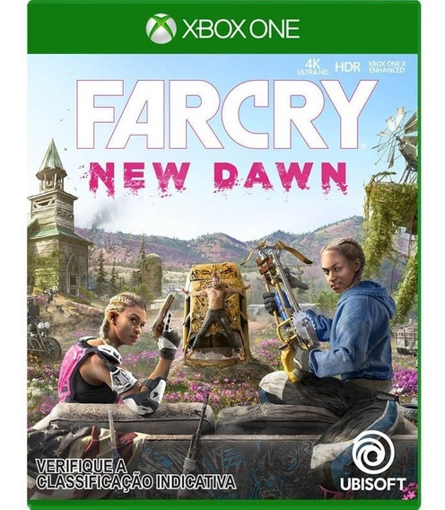Jogo Novo Far Cry New Dawn Edição Limitada Para Xbox One