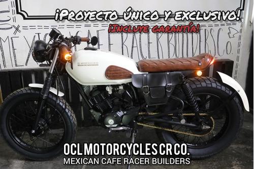 Imagen 1 de 8 de Moto Yamaha 125cc Cafe-brat ¡en Stock! (custom/cafe Racer)!