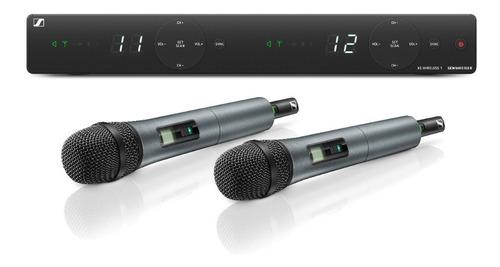 Imagen 1 de 3 de Micrófono Inalámbrico Sennheiser Xsw 1 825 Dual