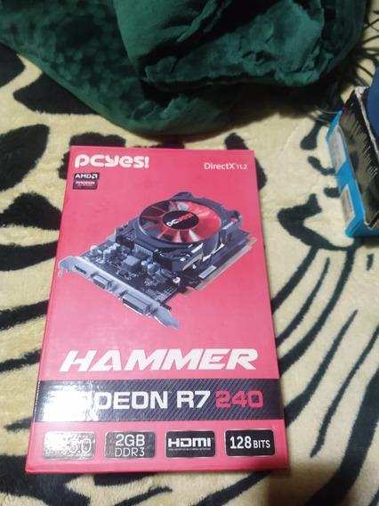 Placa De Vídeo Radeon R7 240 2gb