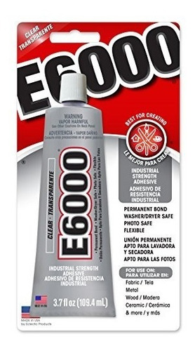 E6000 230010 Arte Adhesivo, 3,7 Onzas Líquidas- Envío Gratis