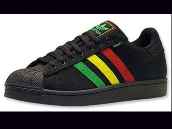 adidas Superstar Rasta Jamaica Raríssimo Original E Único