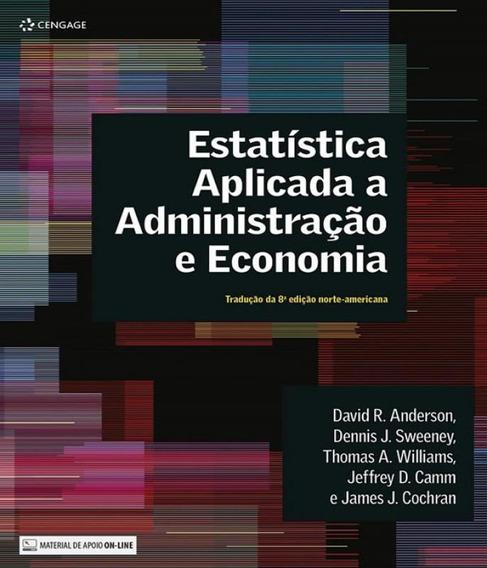 Estatistica Aplicada A Administracao E Economia - 04 Ed