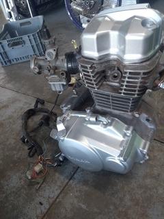 Motor Honda Fan 125 Completo (gira Moto Peças)