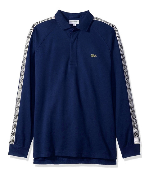 Exclusiva Polo Rugby Lacoste 2xl Reducida Xl Azul