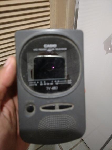 Mini Tv Portatil De Bolso Casio