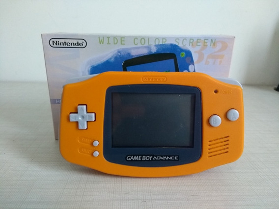 Game Boy Advance Nintendo Original Leia O Anuncio