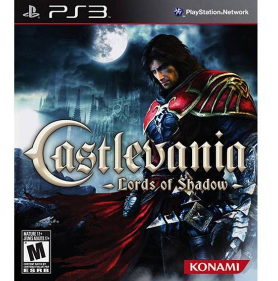 Jogo Castlevania Lords Of Shadow - Ps3 - Novo Lacrado - Mídia Física - Original