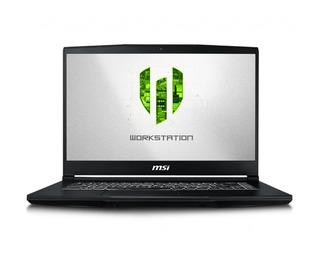 Notebook Gamer Msi Wp65 9th Quadro P620 4gb, I5 16gb 512ssd