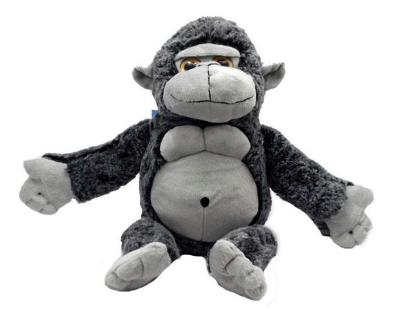 Gorila Pelúcia 40 Cm Macaco Anti-alérgico Lavável Unissex