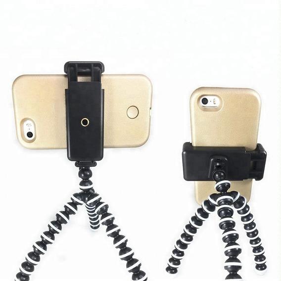Tripé Flexível Gorillapod Com Suporte Para Smartphone Medio
