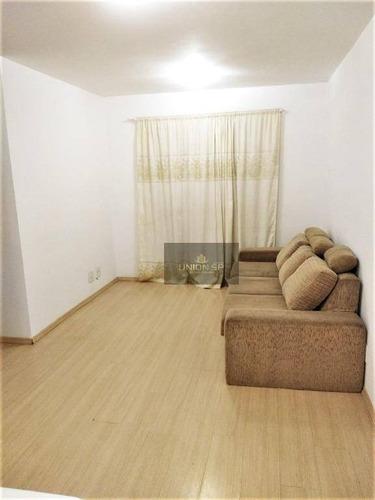 Apartamento Com 3 Dormitórios À Venda, 67 M² Por R$ 450.000,00 - Santo Amaro - São Paulo/sp - Ap43515