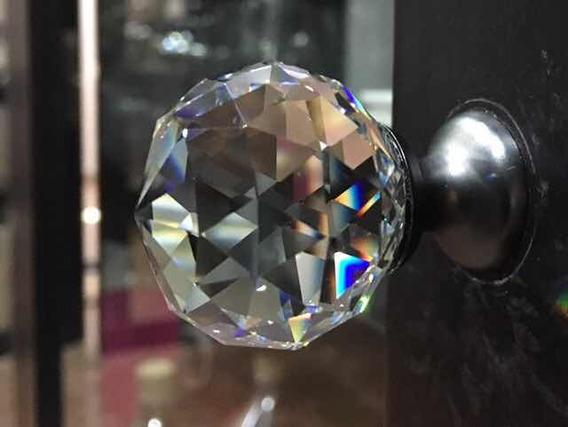 Jaladera Cristal Ultrabrillante Bronce/30mm/set 5 Pz