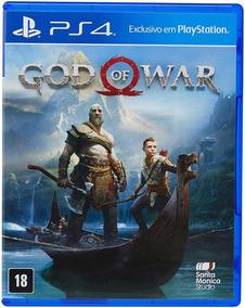 God Of War Ps4 Capa Plástica / Dublado / Mídia Física / Novo