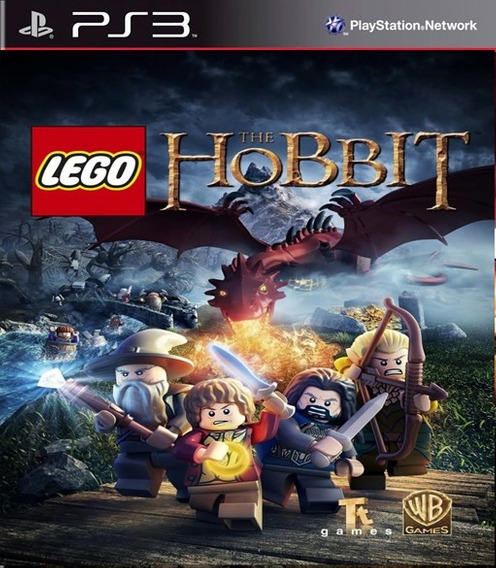 Lego The Hobbit Ps3 Digital Leg/ Português