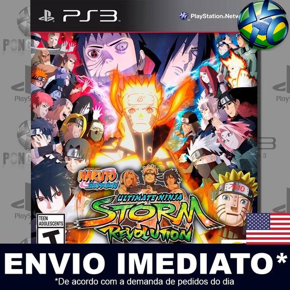 Naruto Shippuden Ultimate Ninja Storm Revolution Ps3 Inglês
