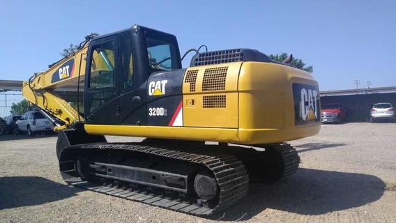 Excavadora Caterpillar 320d2 2015 Buenas Condiciones!!