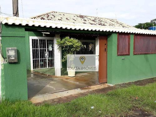 Imagem 1 de 30 de Casa Linear Terreno Inteiro, Jardim Mariléa, Rio Das Ostras. - Ca0915